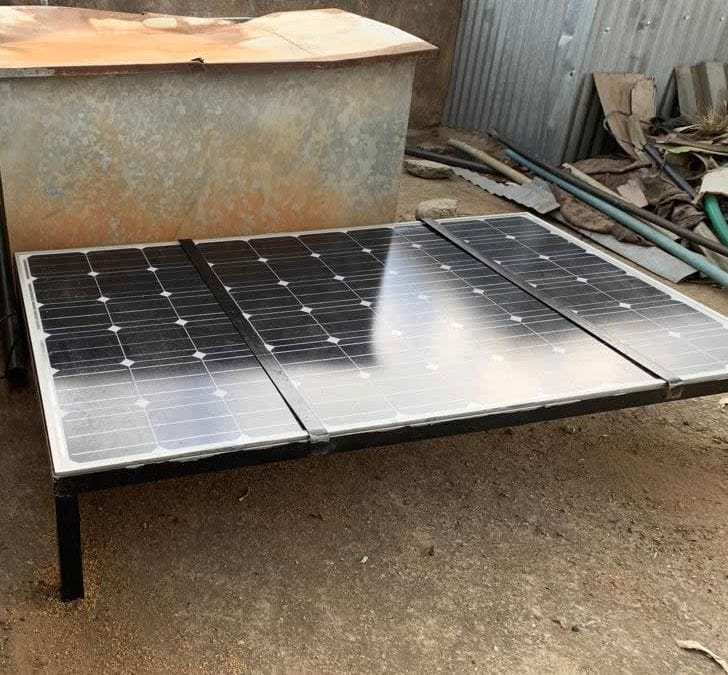 DEAfrica donates solar panel to Hands of Love Educational Centre